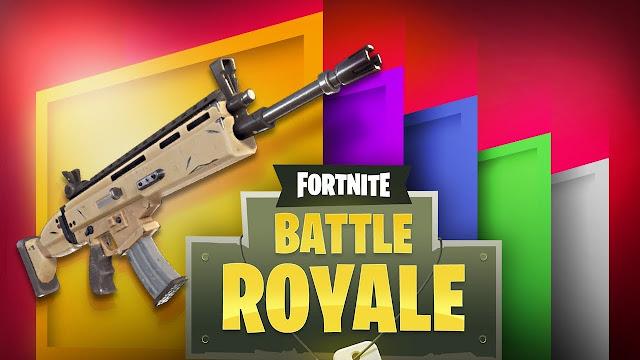 Sistema de armas em Fortnite