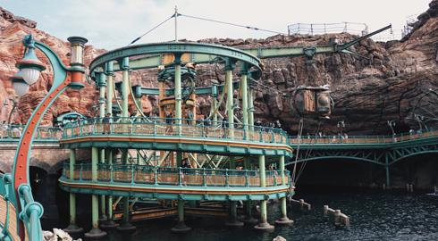Mysterious Island Tokyo DisneySea Japan