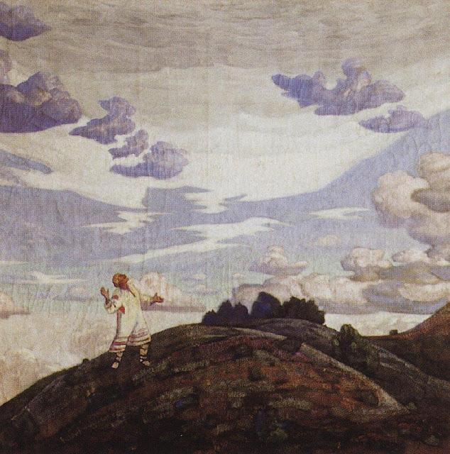 Николай Рерих - Знамение. 1915