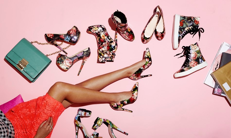 Floral Print Women's Shoe Trends