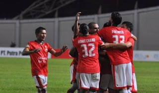 Persija Jakarta Bantai Persegres Gresik 5-0