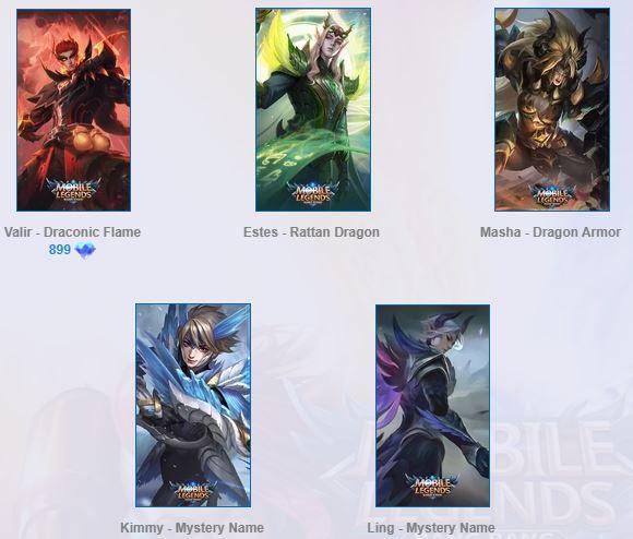Squad Dragon Tamer Mobile Legends