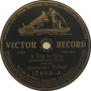 Greater Syrian Diaspora at 78RPM: AM