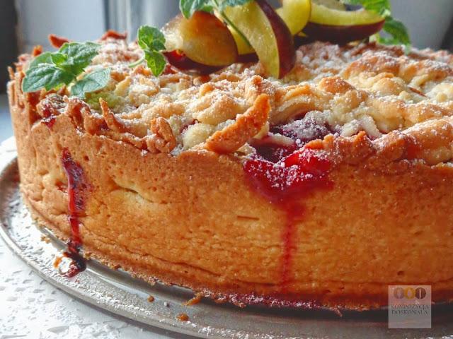 pyszne ciasto ze śliwkami łatwe