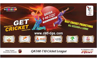 Who will win Today Qatar T10 League 2019, 1st Match FLY vs PEA - Cricfrog