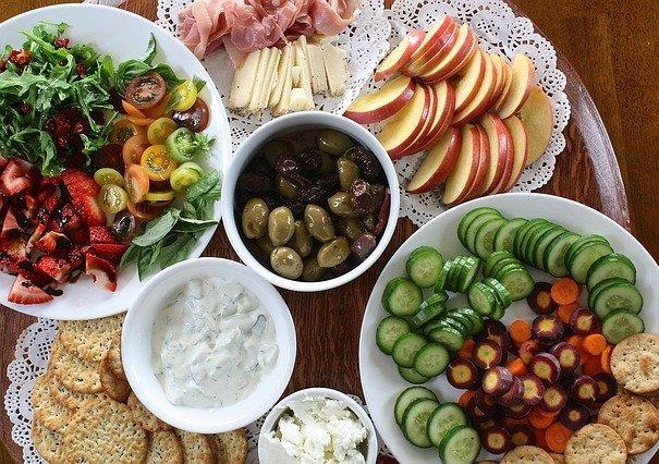 makanan sehat-buah dan sayur-makanan bergizi