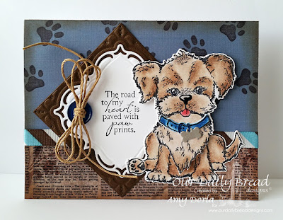 Our Daily Bread Designs Stamp set: You are Pawsome, Our Daily Bread Designs Custom Dies: Layered Lacey Squares, Cats and Dogs, Puppy, Our Daily Bread Designs Vintage Ephemera Paper Collection