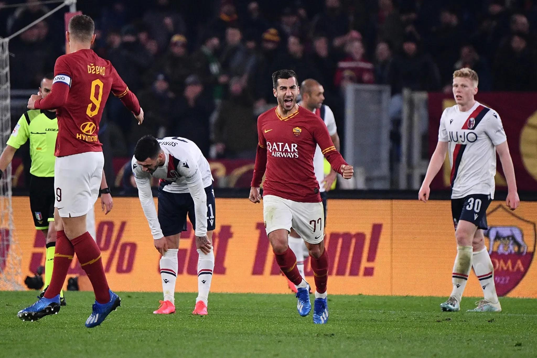 موعد مواجهة روما وبولونيا ضمن مواجهات الجوله الثلاثون من بطولة الدوري الايطالي