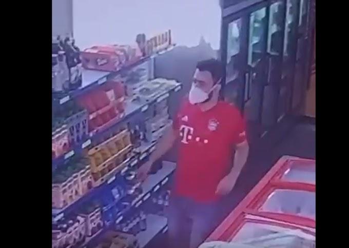 CONQUISTA | (VÍDEO) Ladrão playboy procura delegacia depois de roubar R$500 em mercadorias; comparsa está foragido