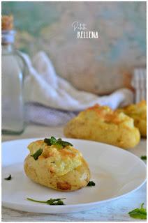 patatas rellenas: ¡apetecible patata cocida asada con queso!