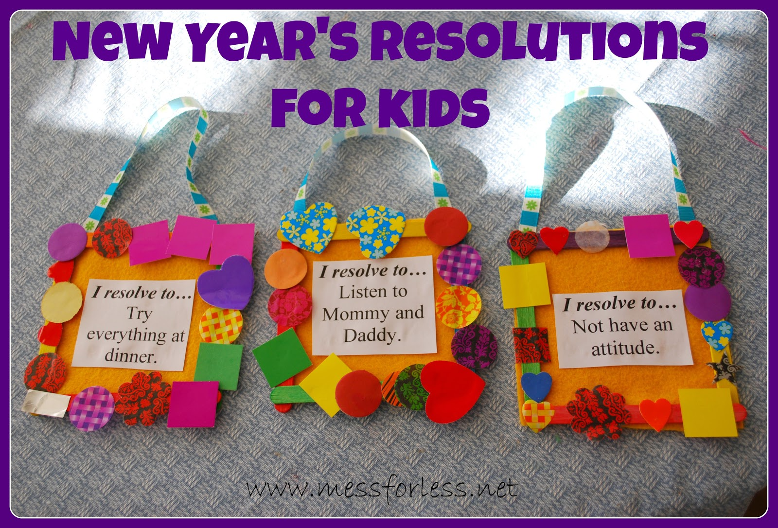 New Year S Resolutions For Kids Mommy Blogs Justmommies