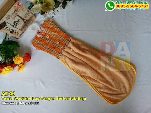 Towel Wastafel Lap Tangan Berbentuk Baju