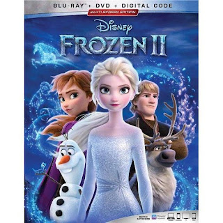 FROZEN II Blu-ray box art