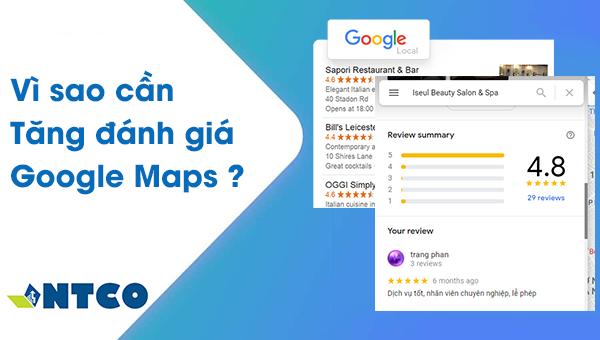 danh gia google maps