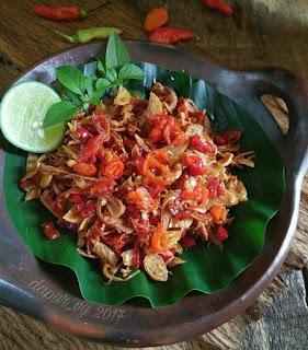 Ide Resep Masak Sambal Embe Bali