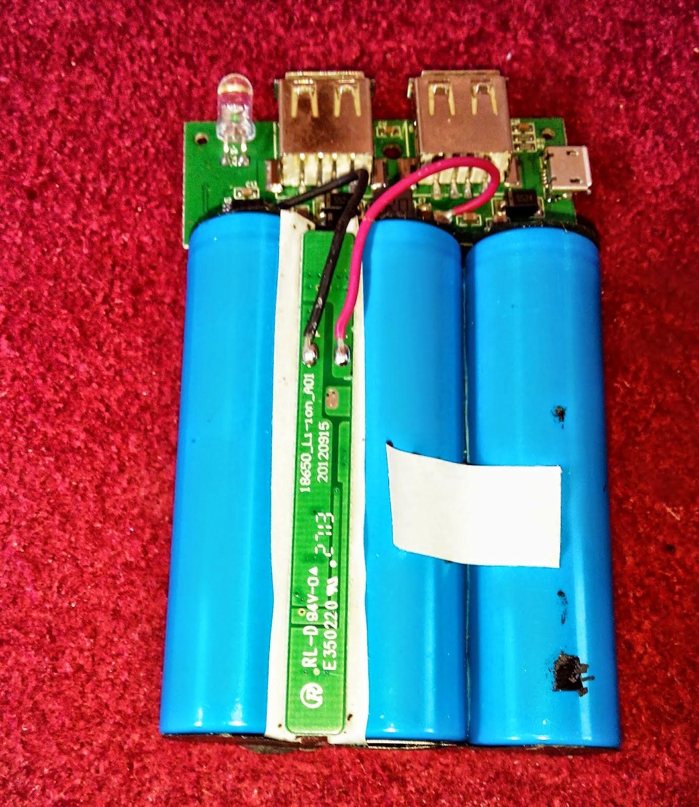 Baterai Powerbank lebih dari ukuran A2