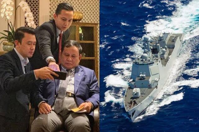 Masuknya Kapal China Ke Indonesia Diduga Spionase, Prabowo Harus Lakukan Tindakan Terukur