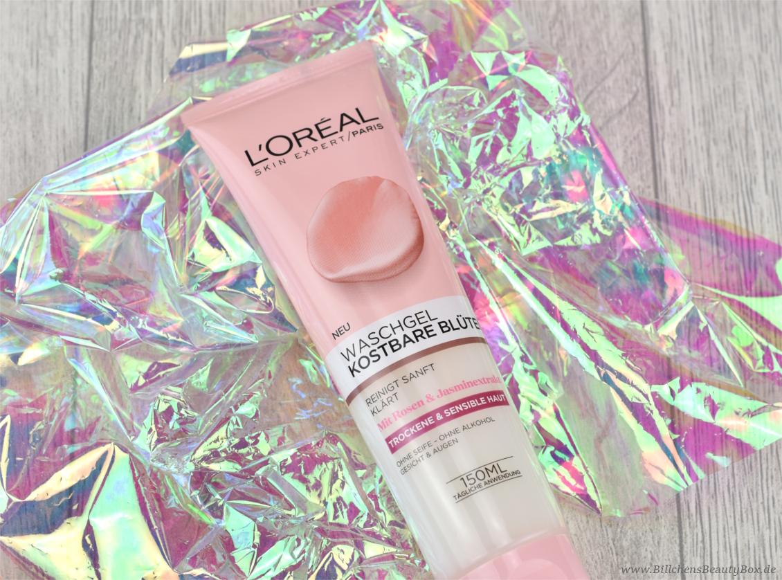 L'Oréal Kostbare Blüten Waschgel - Review und Erfahrungsbericht