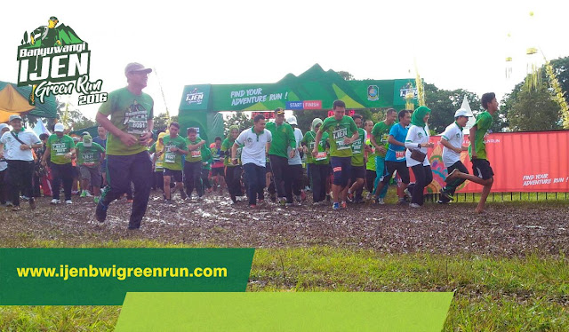 Banyuwangi Ijen Green Run 2016.