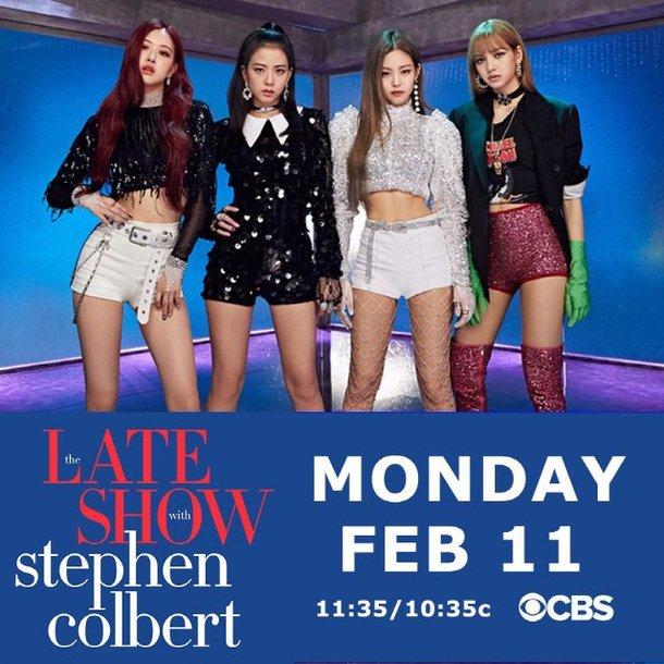 Black Pink 'The Late Show with Stephen Colbert'e de konuk olacak