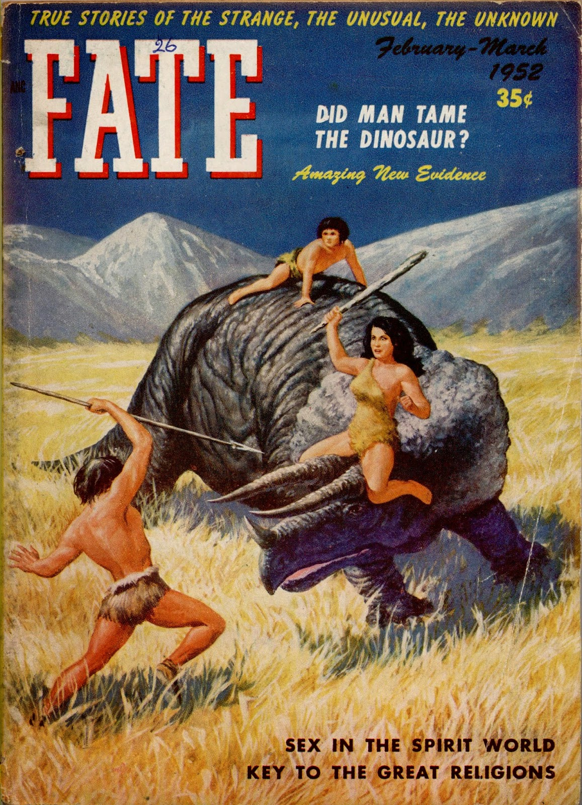 http://pulpcovers.com/did-man-tame-the-dinosaur/