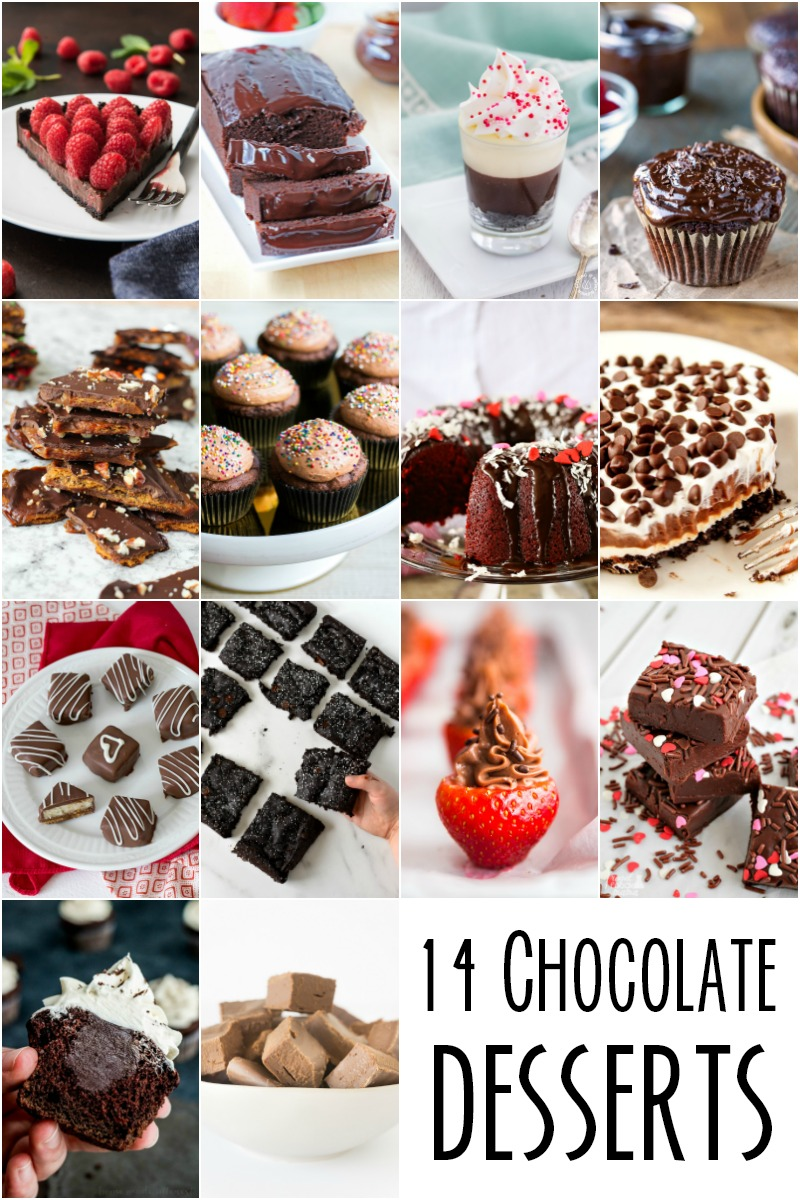 14 Chocolate Desserts | The Two Bite Club | #chocolate #dessert