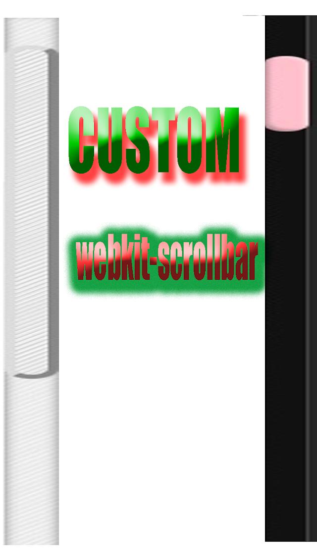 Change browser scrollbar || webkit-scrollbar || CSS scroll