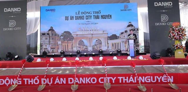 lễ động thổ dự án Danko city thái nguyên