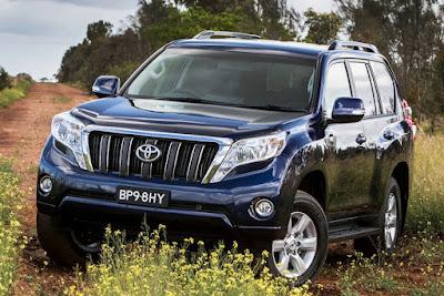 Toyota Land Cruiser Prado front side image
