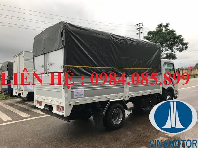 bán xe tải cabstar ns350 thùng bạt