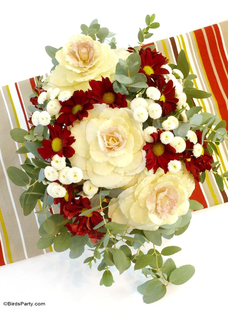 Easy Diy Autumnal Floral Centerpiece Party Ideas Party