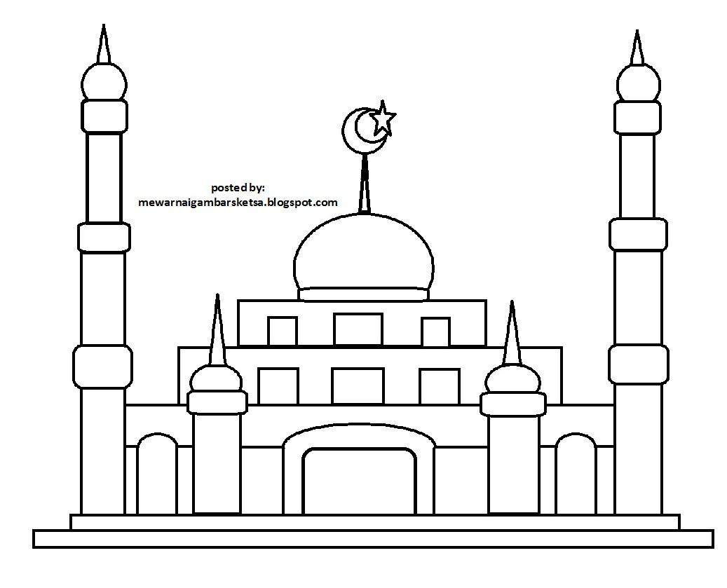 Masjid Gambar Kartun Nusagates