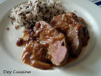 Dey cuisine filet de canard sauce la rhubarbe d fi - Cuisiner un filet de canard ...