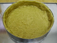 Forrando el molde de masa de quiche