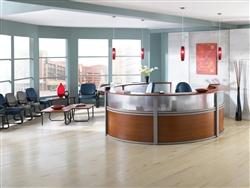 Marque Plexi 5 Unit Reception Desk