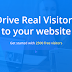 How to Get 2500 Targeting Real visitors Free For Website?