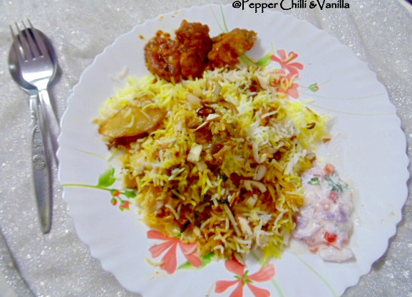 easy mutton mughlai biryani recipe