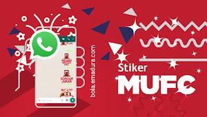 Stiker WhatsApp Madura United Terbaru 2018