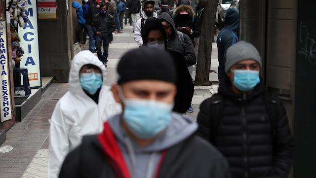 Chile informa sobre 3.069 posibles nuevas muertes por covid-19 no reportadas previamente