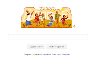 Google peringati sumpah pemuda