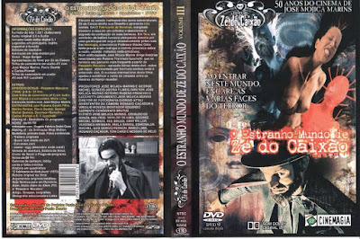 Filme O Estranho Mundo de Zé do Caixão DVD Capa