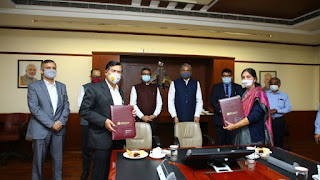 AAI signed MoU with NTPC Vidyut Vyapar Nigam (NVVN)