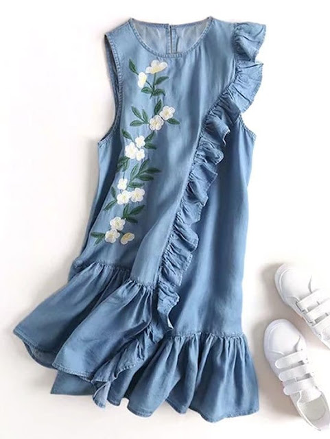 abiti denim estate 2018 denim dresses summer denim dresses zaful dresses fashion moda shopping on line abiti zaful abiti inverno 2018