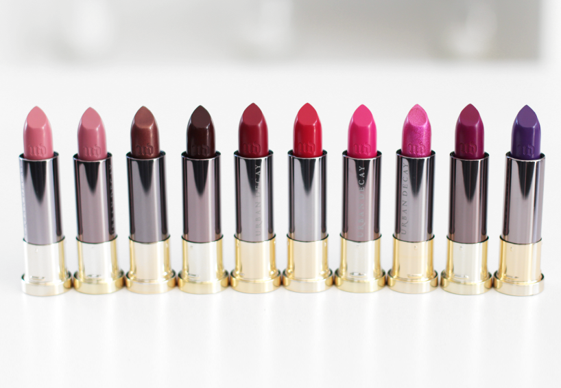 Urban Decay Vice Lipstick Review Mecca Maxima Swatches