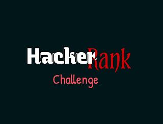 Hackerrank Challenge