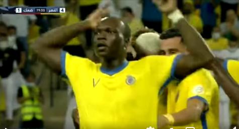 Le premier but de Vincent Aboubakar dans le championnat de football Saoudien.