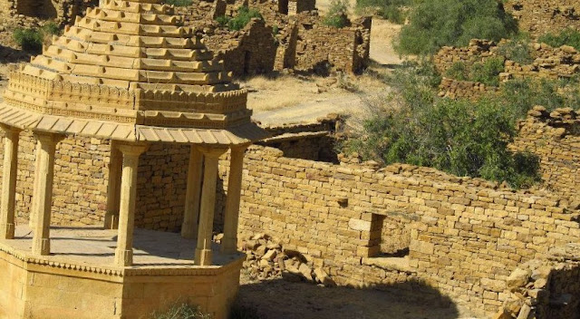 Mystery to explore near Jaisalmer Rajasthan