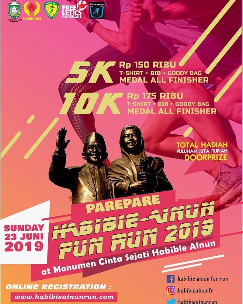 Habibie Ainun Fun Run • 2019