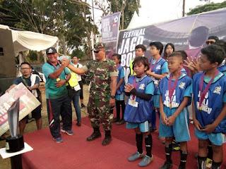 Festival Jago Bola Indonesia Sukses di Makodim 0607