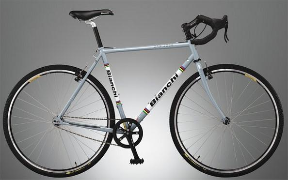 bike bianchi single speed